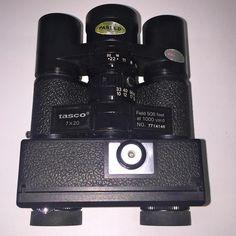 TASCO Vintage Rare 7X20 mm 110 CAMERA BINOCULARS~508ft@ 1000 yd Collectors Items #TASCO