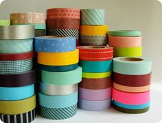 Japanese Washi tape... GREAT product for your packaging!