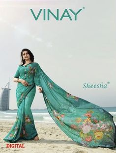 f6705a4cf Vinay fashion sheesha starwalk digital printed casual sarees collection  https   www.jhumarlalgandhi