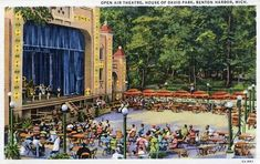 House of David Park - THE EDEN OPEN-AIR THEATRE Bay Area Figurative Movement, House Of David, Open Air Theater, Benton Harbor, Best Places To Live, Wedding With Kids, Amusement Park, West Coast, Indiana