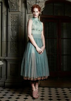 Beautiful dress by Felicity Brown for Spring/Summer 2012.