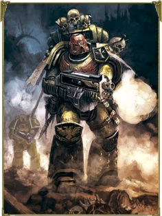 Space Marine - Warhammer 40k - Adeptus Astartes - Imperial Fists