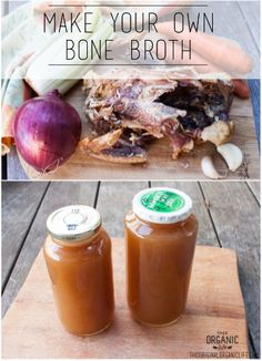 Make Your Own Healing Bone Broth I prefer to do this in a crock pot