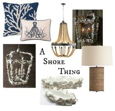 Day 1 of Market's Hottest Trends: A Shore Thing -- Set sail with these nautically inspired pieces: Arteriors Home's Vic Chandelier, Vern Lamp, or Made Goods' Coco Tray!  #CGH #GetTheLook #MadeGoods #ArteriorsHome