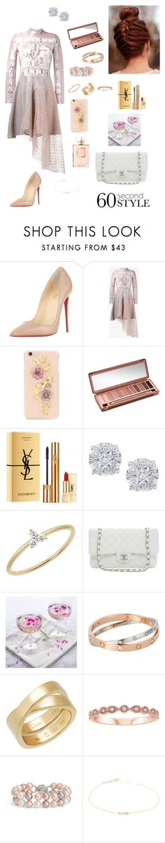 """Asymmetric"" by tamara-wolfram ❤ liked on Polyvore featuring Christian Louboutin, Peter Pilotto, Dolce&Gabbana, Urban Decay, Yves Saint Laurent, Effy Jewelry, EF Collection, Karl Lagerfeld, Cathy's Concepts and Cartier"