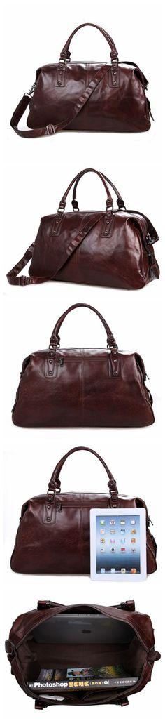 959d9d3c2735 Designer Handbags Mens Leather Travel Bag Business Travel Luggage Bag 7071