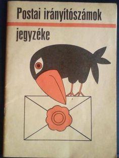 Irányítószámok jegyzéke Naha, Zip Code, Illustrations And Posters, Hungary, Budapest, Childhood Memories, Retro Vintage, Nostalgia, 1