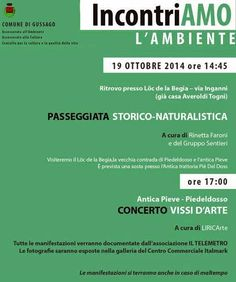 Iseo & Franciacorta News : GUSSAGO 19 ottobre 2014 Passeggiata storico-natura...
