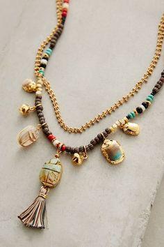 #anthrofave Orli Tassel Necklace - anthropologie.com