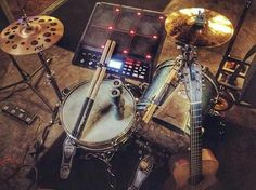 Drums Studio, Acoustic Drum, School Of Rock, Drum Lessons, Drummer Boy, Drum Kits, Blue Art, Music Stuff, Music Is Life