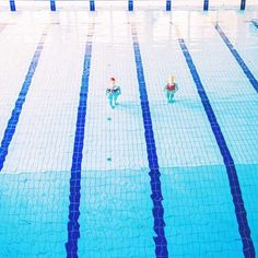 Visually Satisfying Photos Capture the Repetition and Symmetry of Swimming Satisfying Photos, Over The Rainbow, Lovers Art, Surrealism, Swimming Pools, Beach Mat, Outdoor Blanket, Louvre, Explore