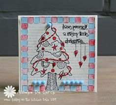 Some fiddling on the kitchen table: PaperArtsy Guest Designer #3