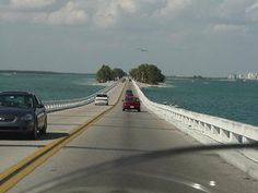 One of my favorite views.  Driving on the causeway towards Sanible Island.  Sigh....