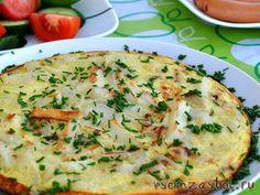 Испанский омлет 6-7 средних картошек 1 луковица 2 ст. ложки оливкового масла 5-6 яиц 1 ч. ложка лимонного сока соль, перец по вкусу