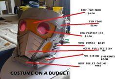 Guardians of the Galaxy Chris Pratt Star-Lord Costume Build (pic heavy) halloween cosplay