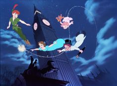 """the second star to the right and straight on till morning"". . . to this day i still love peter pan!"
