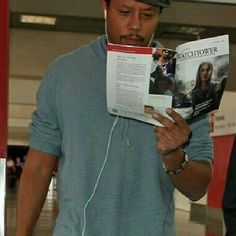 Actor Terrence Howard. His family are all Jehovah's Witnesses. He said he isn't one yet, but if he became anything it would be a Jehovah's witness.