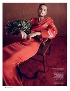 moa aberg by nick hudson for elle russia december 2016 | visual optimism; fashion editorials, shows, campaigns & more!