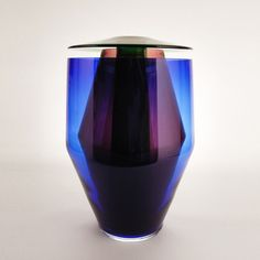 RGB Vases – P242 by Oscar Diaz. The RGB vases combine the excellence of a process like glass blowing, refined through more than two thousand years, with references to the contemporary culture, were screens are extremely common, and its colors, based on the RGB color system.