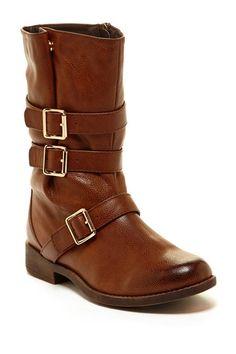 Step Up: Fall Boots Elegant Footwear Ketisa Buckle Shaft Boot