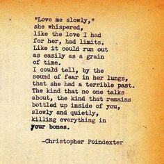 Christopher Poindexter quote