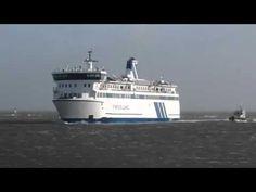 Veerboot Terschelling tijdens storm 05-01-12