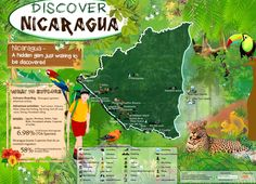 Discover Eco Adventures at Nicaragua | Cool Daily Infographics