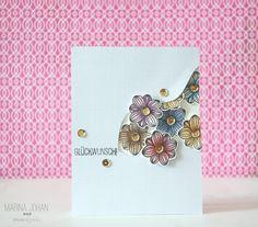 Create a Smile Stamps: Botanical Love DT: Marina Johan