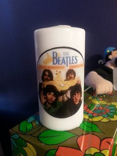 Retro Beatles Candle