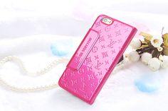 Louis Vuitton iPhone8/7S/7/6S/6/Plus Case Embossed Slim Rose