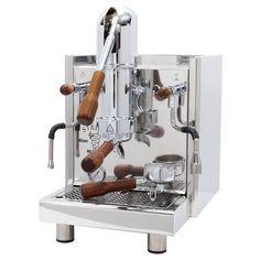 Home Espresso Machine, Espresso Machine Reviews, Cappuccino Machine, Kitchen Machine, Canned Heat, Wood Accents, Espresso Coffee, Barista, Inventions