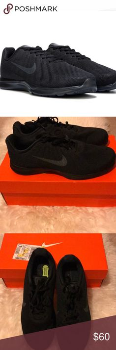 Women's Nike In Season Training Shoe Brand new and 100% authentic. Purchased from JCPenney. NO TRADES. Color: black Size: 8.5. I consider reasonable offers, what I counter with is my lowest. Has comfort sock line - this seems loose in the shoe, but it is not a loose sole! It's just the sock liner. ❤️ Nike Shoes Athletic Shoes