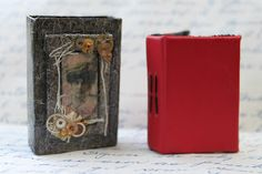 Crafty Bitz : Tutorial - How to make an Altered matchbox book cover & Mini…