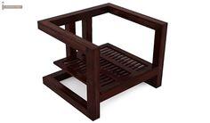 Skyler Wooden Sofa Sets (Mahogany Finish)-7