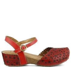 f95d7139c Spring Step Women s Livvy Mary Jane Shoes (Red Leather) Spring Step