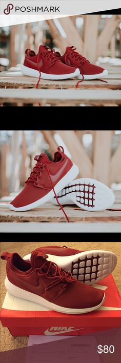 Cheap Nike Roshe Two Flyknit 365 'Bright Crimson' Afew Store