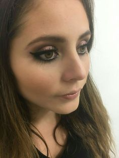 Makeup #cateyes #denoche #colorestierra
