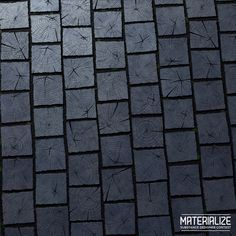 ArtStation - MATERIALIZE Challenge - Shou Sugi Ban Pavement , Romain Lemaire