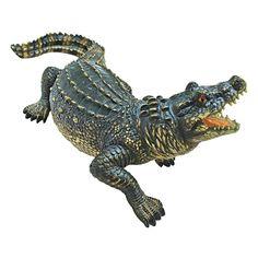 Design Toscano The Agitated Alligator Swamp Gator Statue - QL56979