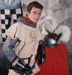 Roger Moore as Ivanhoe, based on the 1819 novel by Sir Walter Scott.
