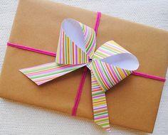 Como hacer lazos para envolver regalos