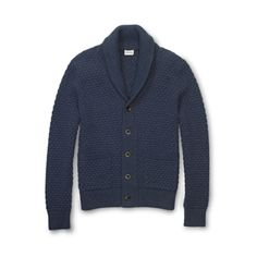Every dad should have a classic cardigan, take this Textured Knit Shawl Cardigan for example...