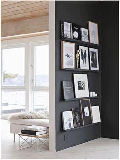 Black and White na decor