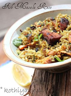 Fried Fish Masala Rice 1 (2) by s4's world, via Flickr