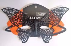 Brother Sister Design Studio HALLOWEEN Black Lace Butterfly Mask - 1pc…