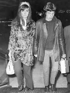 Chrissie Shrimpton & Mick Jagger