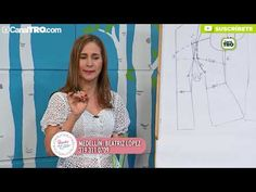 Blusa en ojalillo Hecho con Estilo - YouTube Sewing Techniques, Sewing Patterns, Family Guy, Blazer, Youtube, Cross Stitch Designs, Molde, Women Ties, Blouse Patterns