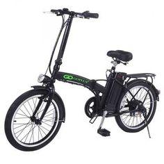 Goplus 20 Inch 250w Folding Electric Bike Sports Mountain Bicycle 36v Lithium Battery