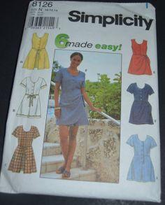 Simplicity 8126 Misses/Miss Petite Romper by DestinedRendezvous, $4.01