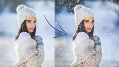 How to Make a Snow Overlay, Easy Tutorial Creative Portraits, Creative Photos, Snow Photography, Portrait Photography, Photography Ideas, Trends 2018, Father Daughter Photography, Lightroom, Photoshop